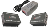 Ethernet and POE+ Extender over 1-Pair