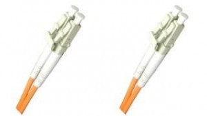 OM1 3mm Duplex LC-LC 62.5/125 Fiber Patch Cable