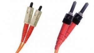 OM1 3mm Duplex SC-ST 62.5/125 Fiber Patch Cable
