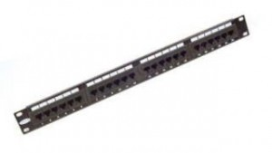 "110 Cat 6 19"" Patch Panel - 24 ports"