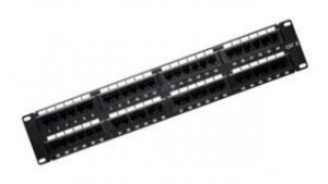 "110 Cat 6 19"" Patch Panel - 48 ports"